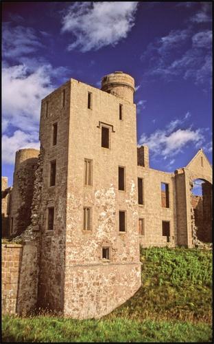 Castle Dracula (Slains) by Scotty