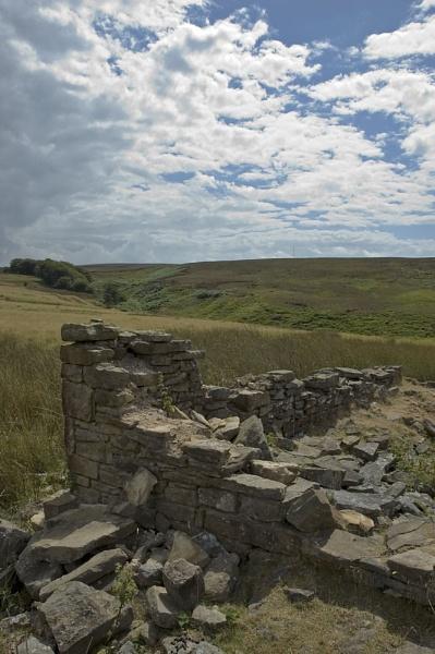 Moorland Ruins by AndyM