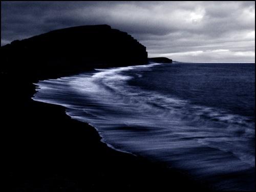 West Bay, after dark by Beta1