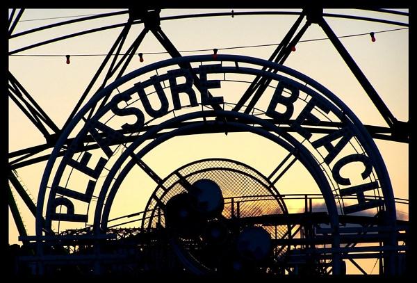 Pleasure Beach by mark2uk