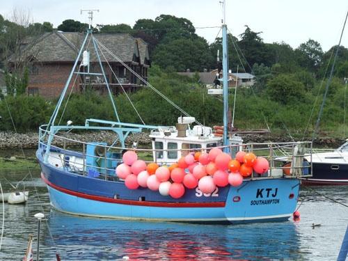 Fishing Boat by Ianuk42