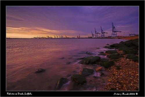 Felixetowe Dock by AntonyB