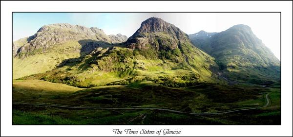 Three Sisters of Glencoe by sparky2000