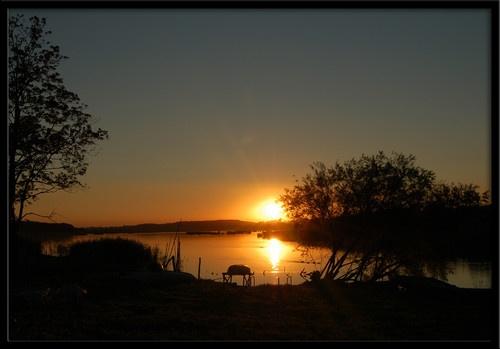 Lake Sunset by Rune_andersen