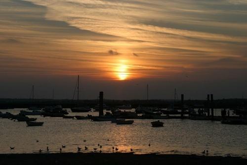 Mersea Sunset by photogary