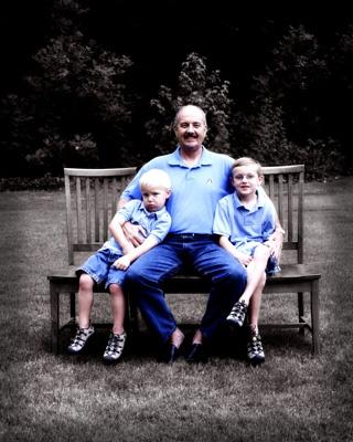 Granddad & his boys by sarah kruger
