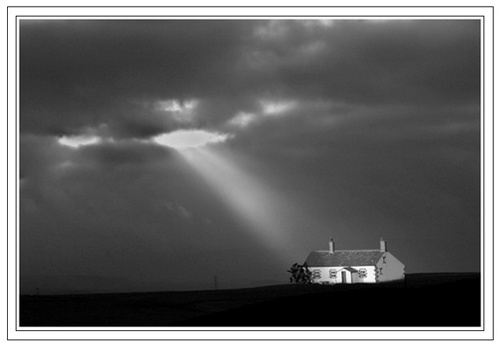 The white Cottage. by danbrann