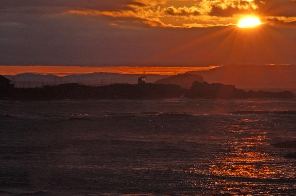 Stormy Sunset by motman