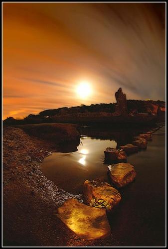 Lunar Stones by BURNBLUE