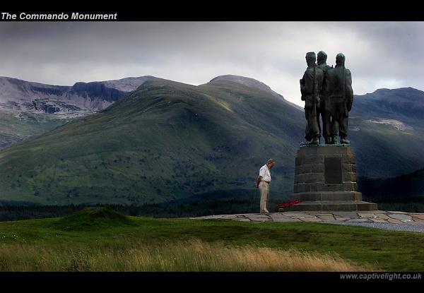 The Commando Monument by Miles Herbert