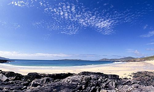 The beach by islandt