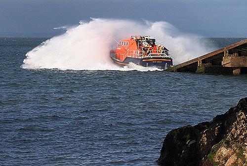 tenby life boat by Matthew_Leyshon