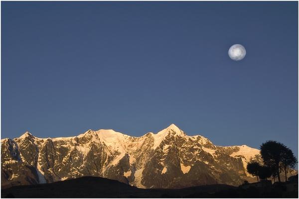 Illumani Moon by philipr