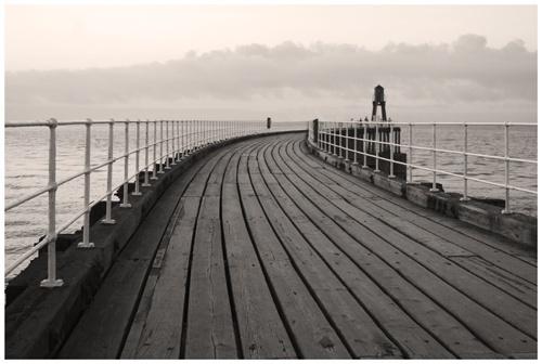 Whitby, West Pier by PAllitt