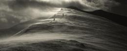 windswept mountain
