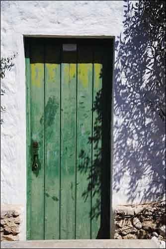 Sunlit doorway by pjc