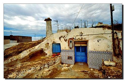 Blue Cave House, San Miguel de Salinas by roverfoxy9