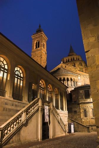 Night in Bergamo 2 by gnospellius