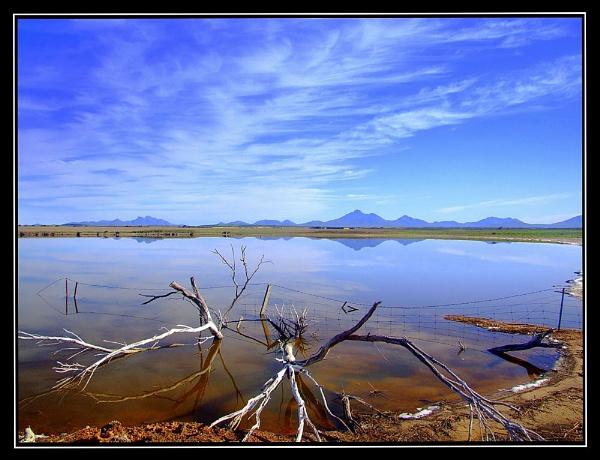 Salt lake by Pixellent