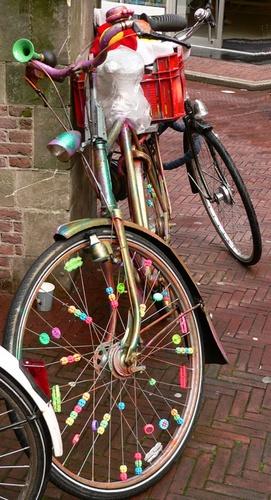 bike in amsterdam by mcgregom