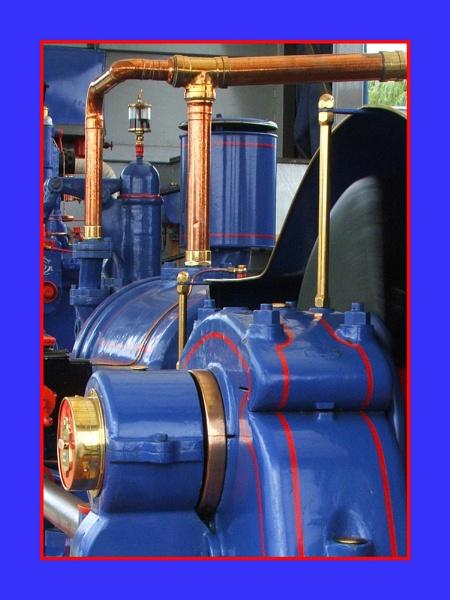 Blue Steamer by Ricardos