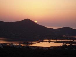 Sunrise over Elounda