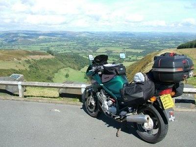 Garth Viewpoint, Wales by ladaman98