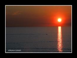 An Istrian Sunset