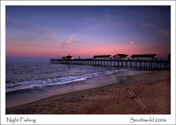 Night Fishing by KathyW