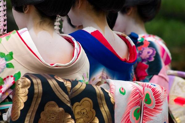 Geisha Detail by nathanrobinson