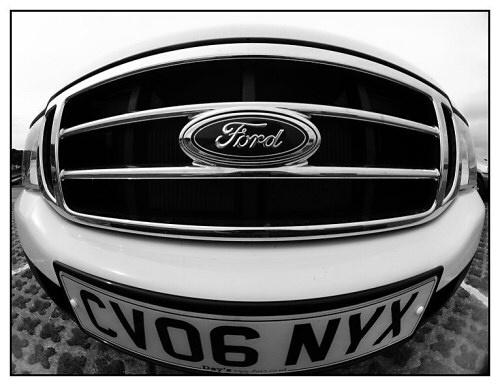 Fisheye on Ford by mr chilli
