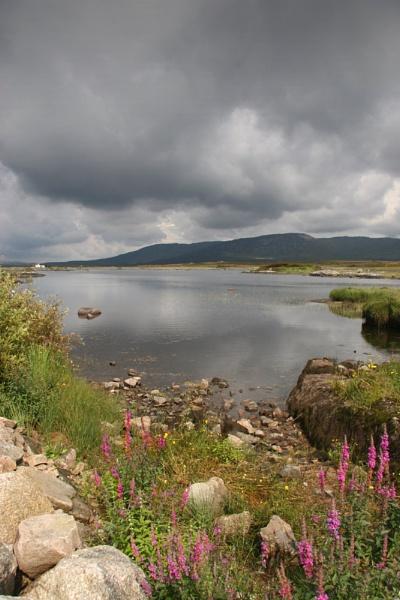 Connemara mountains by carriebugg