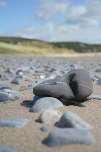 Oxwich Bay Stones by fredforsyth