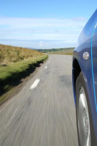 Speeding Car by fredforsyth