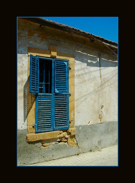 Nicosia window by jeza