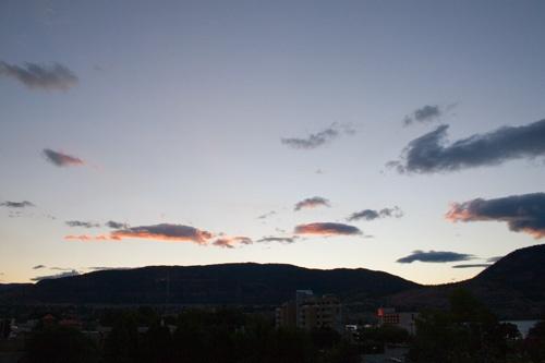 Sunset. No Smoke! by ronss