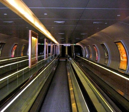 A Rather Moving Walkway by ChiliMan