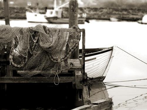 Fishing nets by jennywren