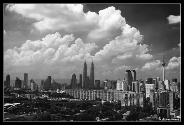 Kuala Lumpur City Skyline by messhai