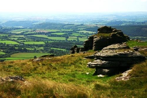 Veiw from Dartmoor by RobMacormac