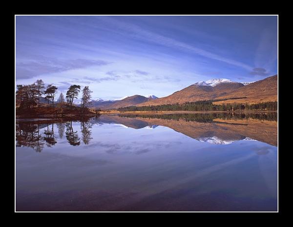 Loch Tulla Reflection by BruceC