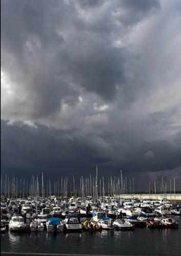 stormy sky by wbk666