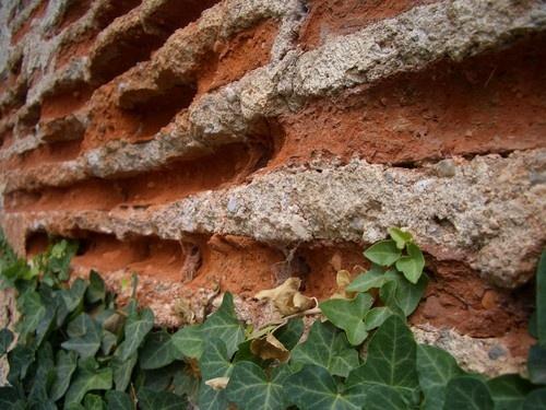Crumbling Bricks by silep