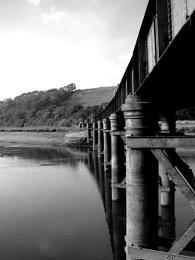 Iron Bridge. Devon