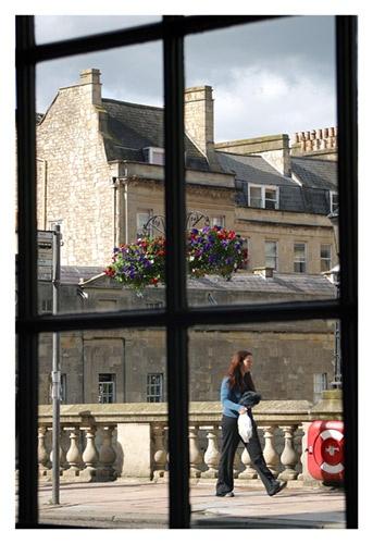 Through a window by muzzeyman