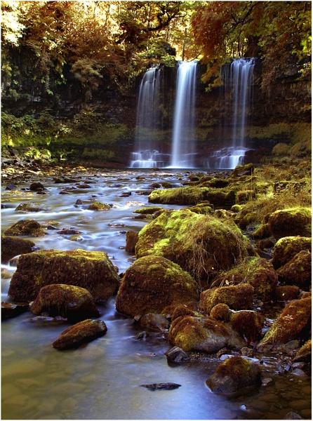 Waterfall - Sgwd yr Eira by WayneG