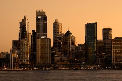 Sydney Sunset by Anastasia