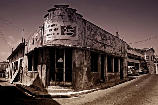 Paphos Old Town Supermarket by Taya