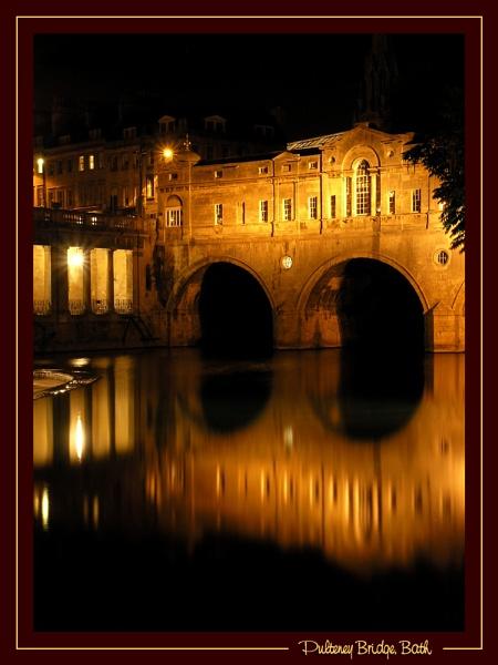 Pulteney Bridge, Bath by DiegoDesigns