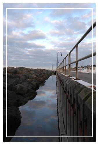 portarlington pier by kelmac